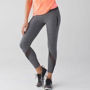 Lululemon Inspire Tight 7/8 Legging Grey Luxtreme Sz 6